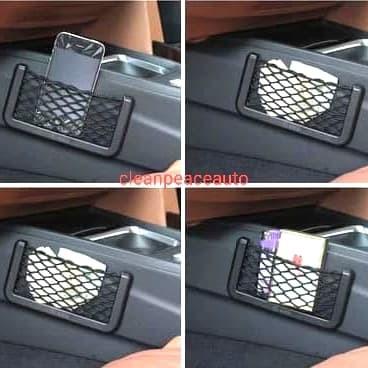 Foto Produk Kantong tempat Hp mobil - car net small bag car dari cleanpeace auto shop