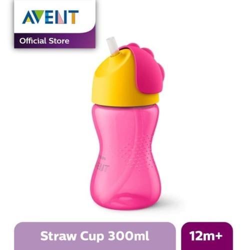 Foto Produk Philips Avent SCF798/02 Straw Cup 300 ml Pink 12M+ / Botol Minum Anak dari Tokopedia Baby Shop