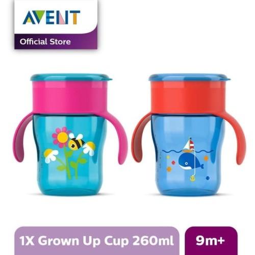 Foto Produk Philips Avent SCF782/20 Grown Up Cup 260 ml Blue Whale / Botol Minum dari Tokopedia Baby Shop