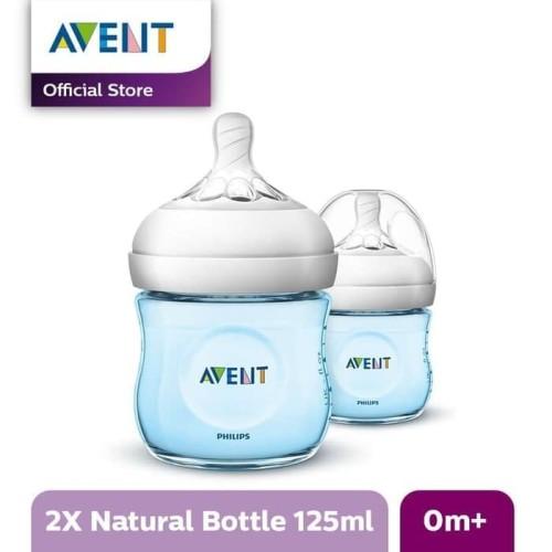 Foto Produk Philips Avent SCF692/23 Botol Natural 125 ml Blue Twin / Botol Susu dari Tokopedia Baby Shop