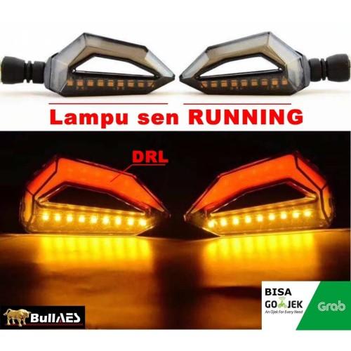 Foto Produk LAMPU SEN LED MOGE MV AGUSTA MERK ICC I Lampu Sen Led 2 Warna SKU-2500 - Merah dari BULLAES