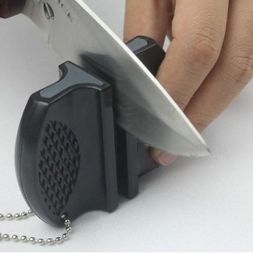 Foto Produk ONEUP Pengasah Pisau Mini Portable Knife Sharpener - MDQ001 dari BudgetGadget