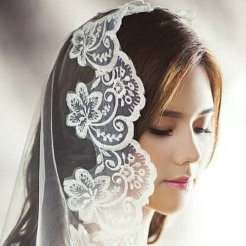 Foto Produk Kerudung wedding veil pernikahan 1,5 meter dari Sarkara Shop