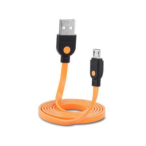 Foto Produk Kabel Data Hippo Caby 2 Micro USB 100CM - Fast Charging Cable Sync 2A dari Clarias Shop