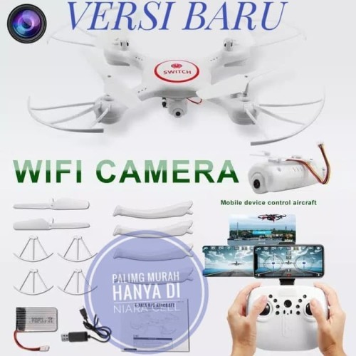 Foto Produk Murah Drone X5Sw-1 Kamera Fpv Wifi Mirip Syma X5Hw X5S Grosir/Eceran dari carlen mia
