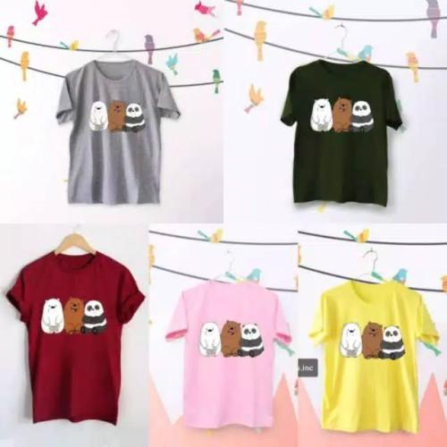 Foto Produk PROMO!! T-shirt-Tumblr Tee kaos cewek BEAR termurah. MURAH dari priceza shopp