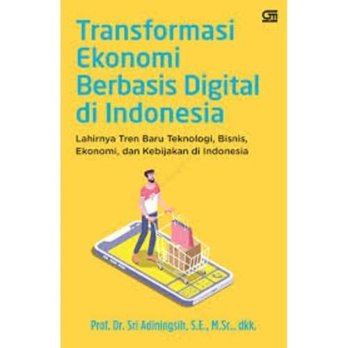 Foto Produk Buku Transformasi Ekonomi Berbasis Digital di Indonesia dari ombotak