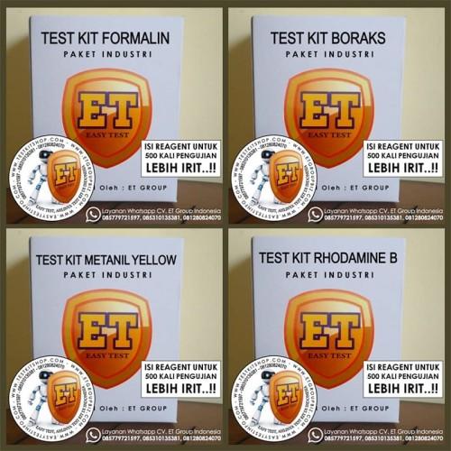Foto Produk Test Kit 4 Varian Paket Industri utk 500 kali Tes dari easytest