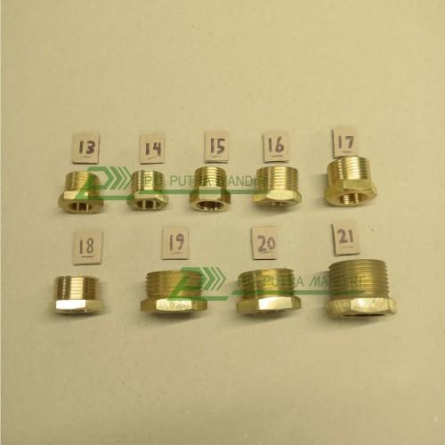 Foto Produk V Ring 3/4 x 1/2 - Kuningan (Adaptor / Reducer) dari PUTRA MANDIRI HYDRAULIC