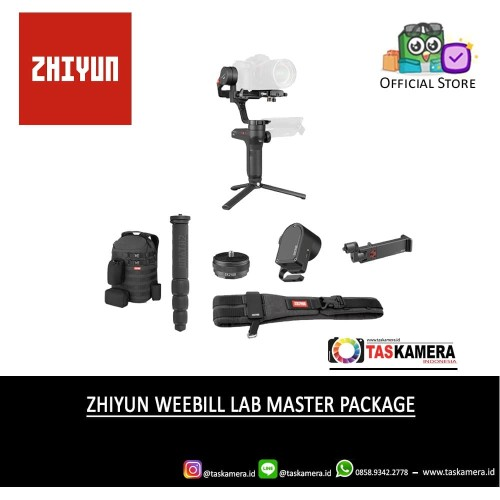 Foto Produk Zhiyun-Tech Weebill LAB Master Package - Hitam dari taskamera-id