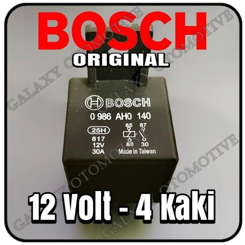Foto Produk Relay Bosch 12v kaki 4 dari Galaxy Otomotive