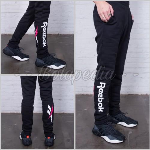 Foto Produk Celana Training JOGGER PANJANG REEBOK / celana olahraga fitness sport dari Bolapedia