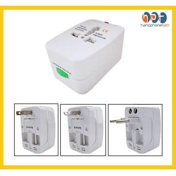 Foto Produk Universal Travel Adapter / Adaptor (EU + AU + UK + US Plug) dari HandphoneTiam