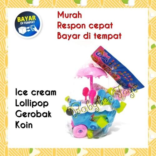 Foto Produk Mainan Gerobak Es Krim Lolipop   Mainan Gerobak Ice Cream dari Babyboo Mlg