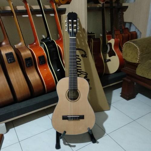 Foto Produk Gitar Classic Nylon 3/4 Cowboy CG 34-NA original Import dari Travertine music
