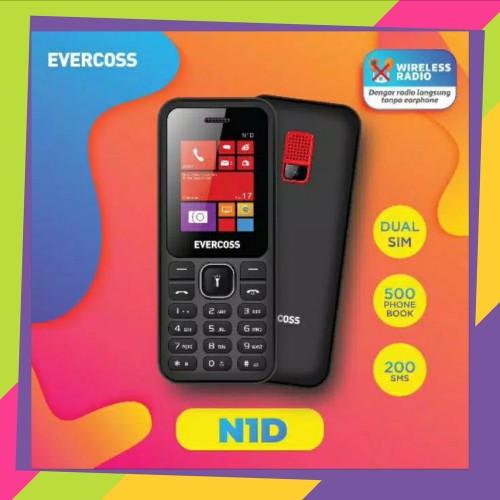 Foto Produk HANDPHONE EVERCOSS N1 SAMA SEPERTI NOKIA DUAL SIM GARANSI RESMI 1 dari bahy shp