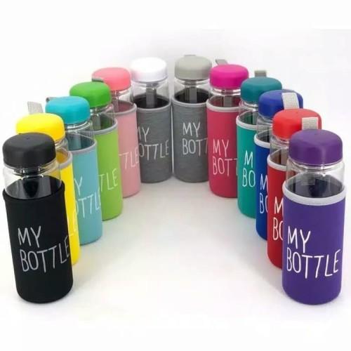 Foto Produk Botol Minum My bottle busa bening 500ml dari toko aneka grosir bdg