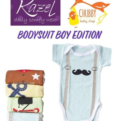 Foto Produk Kazel Bodysuit - Boy Edition - Newborn PALING MURAH dari maura fam