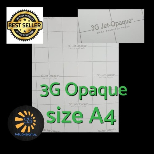 Foto Produk 3G Jet Opaque Size A4 dari kian kian