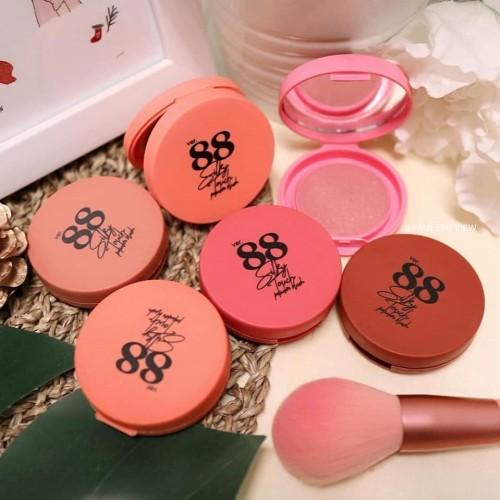 Foto Produk Ver 88 Silky Touch Powder Blush Original dari Glow Little Shops