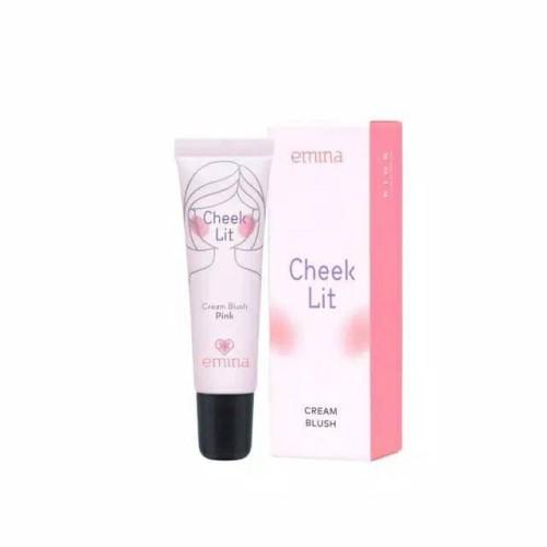 Foto Produk Emina Cheek lit Cream Blush - Peach dari giselashopid