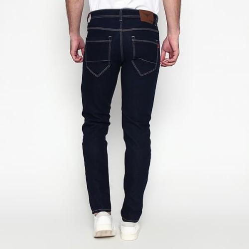 Foto Produk 2Nd RED Jeans Pria Slim Fit Best Seller Bahan Melar Blue Black 133252 - Hitam, 29 dari 2nd RED Jeans