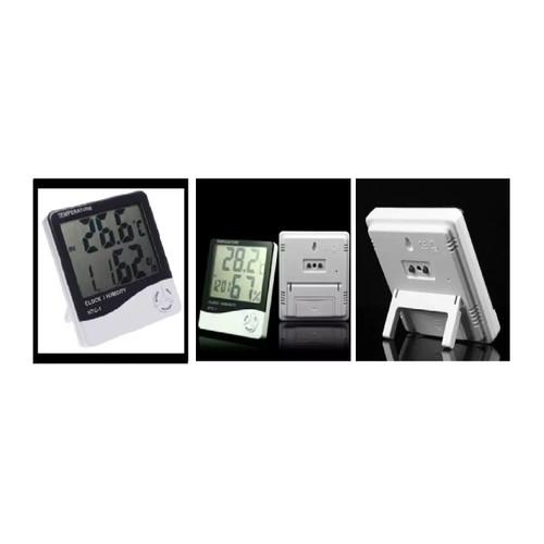Foto Produk Grosir Hygrometer Termometer thermometer Jam Digital LCD HT-1 ORI dari rudimeli