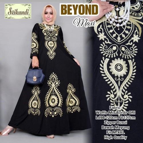 Foto Produk Baju Muslim Gamis Wanita Terbaru Model Turki High Quality - Rotasi dari Busana Muslim Modern 77