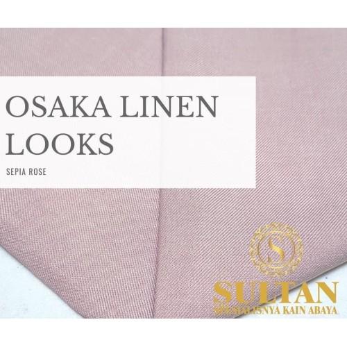 Foto Produk OSAKA LINEN Sepia rose dusty dari KAIN SULTAN OFFICIAL