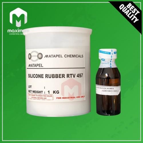 Foto Produk Silicone Rubber RTV 497 Dan Katalis - 1 Kg dari Maximum Chemical