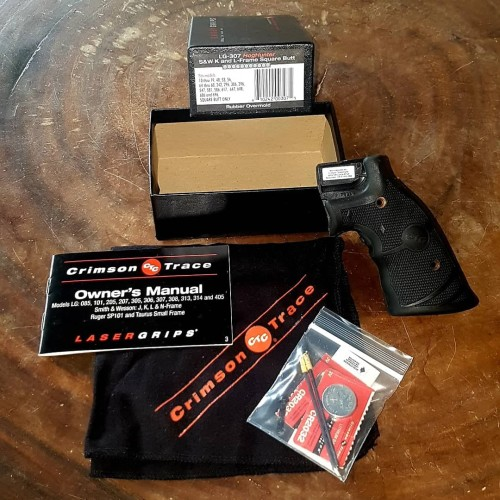 Foto Produk Laser Grip Revolver S&W K and L-Frame Square Butt dari MILZONE