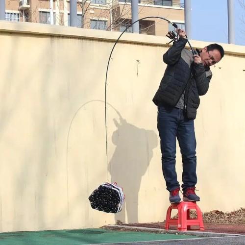 Foto Produk joran fiber carbon karbon fishing of catch spinning casting 180 - spinning dari bayu shop9
