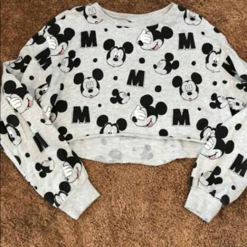 Foto Produk Mickey mouse Crop Top (H&M) /preloved dari Stayl Store
