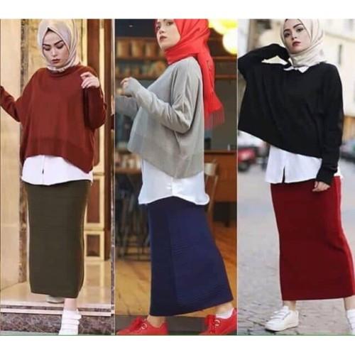 Foto Produk Atasan Wanita Rajut Halus ALEXA CROP dari Stayl Store