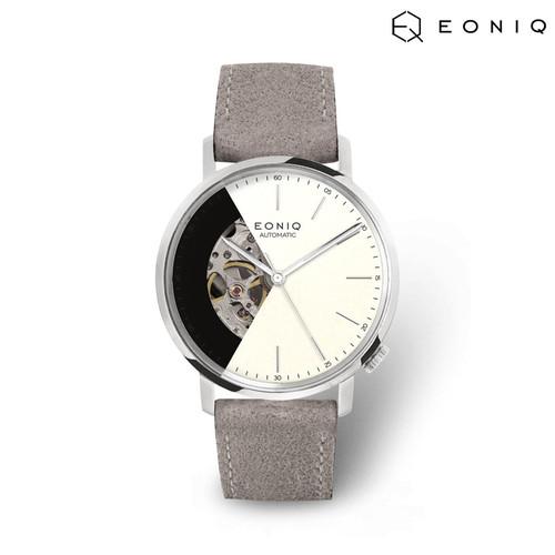 Foto Produk Jam Tangan Custom Mekanik EONIQ Alster Classic-S - Nubuck Strap dari EONIQ