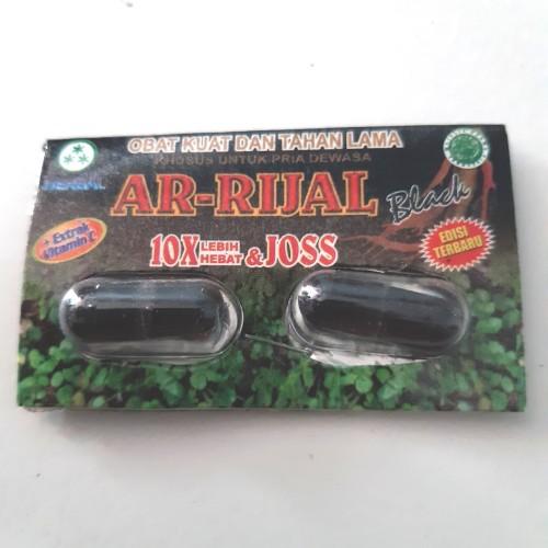 Foto Produk kapsul arrijal black kemasan strip isi 2 kapsul dari winacollection
