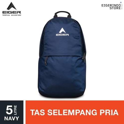 Foto Produk Eiger Octal 5 1A Cross Sling Bag 5L - Navy dari Eigerindo Store