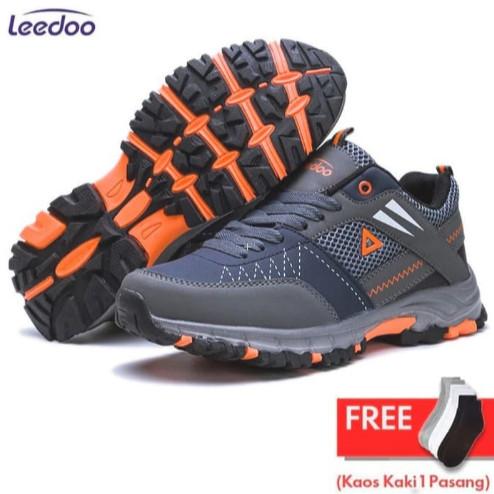 Foto Produk Leedoo Sepatu Olahraga Sepatu Outdoor Sport Sepatu Gunung MH203 - Abu-abu, 41 dari Leedoo