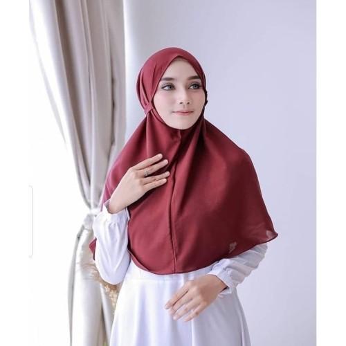 Foto Produk Jilbab Hijab Kerudung Khimar Syari Bergo Tali Instan Termurah Diamond dari beautycornerjogja