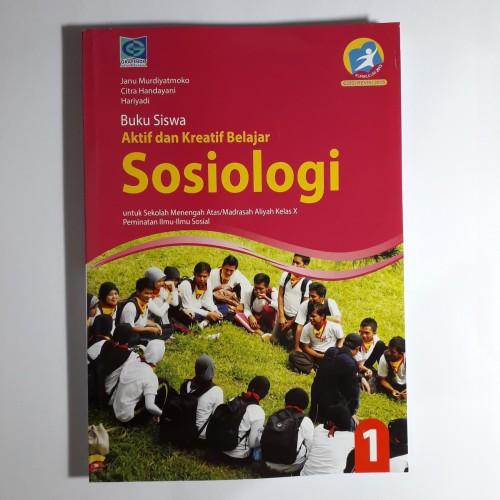 Foto Produk Buku SMA Kelas X 10 Sosiologi Grafindo dari baca lagi