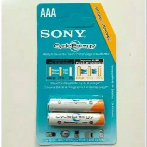 Foto Produk Baterai A3 Recharger Sony AAA CycleEnergy 4300mAh dari Cecelala