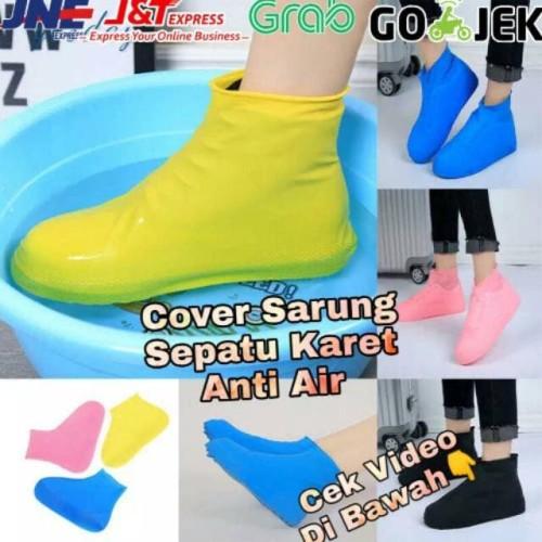 Foto Produk Sarung Sepatu Anti Air Pelindung Sepatu Bahan Karet Waterproof dari LOTUS ACCESORIESS