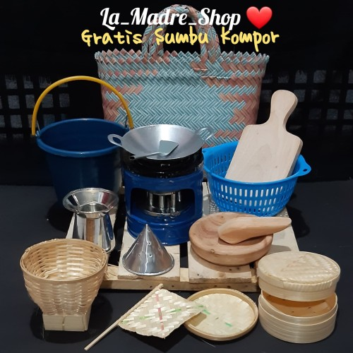 Foto Produk MAINAN ANAK TRADISIONAL Masak-Masakan ❤ Paket Lengkap '16 item dari La Madre Shop