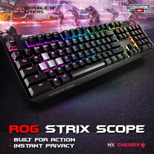 Foto Produk Asus ROG Strix Scope - Gaming Keyboard dari GOODGAMINGM2M