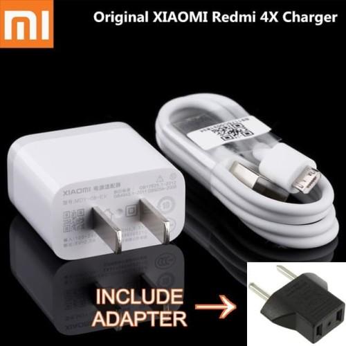 Foto Produk ORIGINAL 100% CHARGER XIAOMI REDMI 4X 4A    REDMI 3 3S 3 PRO 2A 5V ORI dari D'comshop
