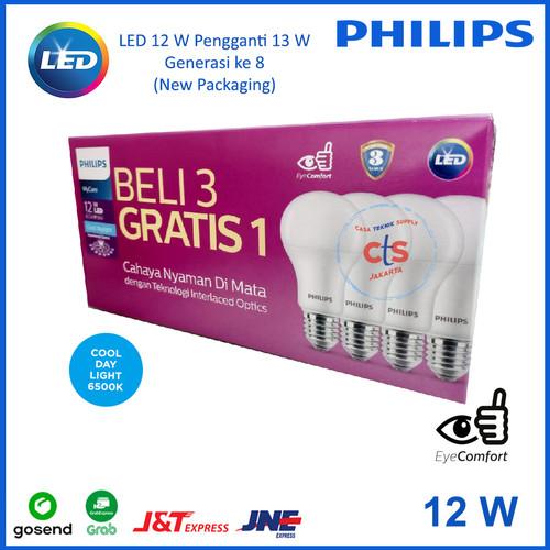 Foto Produk Lampu Philips LED 13 WATT 13WATT 13W 13 W (1 Paket isi 4 pcs) dari Casa Teknik Supply