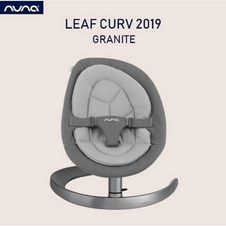 Foto Produk Nuna Leaf Curv 2019 Dusk and Granite - Baby Bouncer and Swing Padding - Dusk dari ninemonthslater