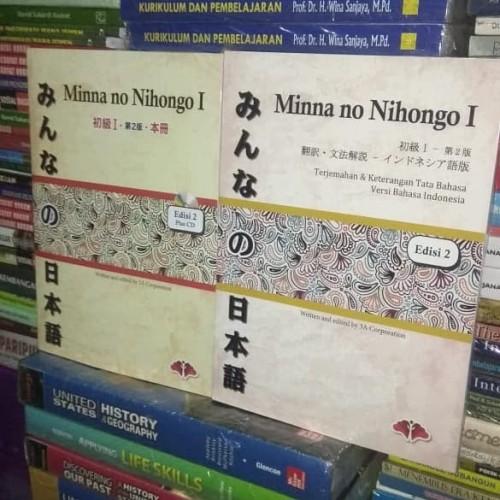 Foto Produk Minna no Nihongo 1/Satu set,2 buku dari TB Ardila