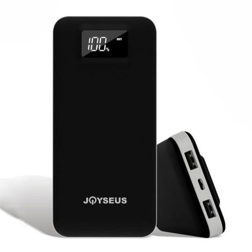 Foto Produk JOYSEUS 20000mAh Power Bank Lightning and Micro Input LED Digital PB09 - Merah dari Joyseus Official Store
