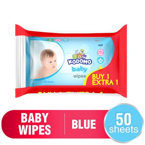Foto Produk Kodomo Baby Tisu Basah 50 sheets - Classic Blue dari Wings Official Store